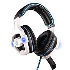 Sades SA-903 Hodetelefoner (hodebånd)ForComputerWithMed mikrofon Lydstyrke Kontroll Gaming