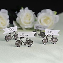 Zinc Alloy Place Card Holders 4 Standing Style Gift Bag
