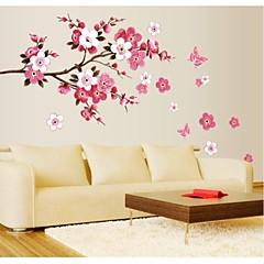jiubai® Blumenbaum-Wandaufkleber Wandtattoo