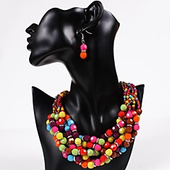 Jewelry Set Women's Party Jewelry Sets Alloy Earrings / Necklaces Silver