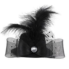 Women's Feather / Fabric Headpiece-Wedding / Special Occasion Hats