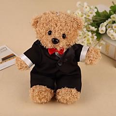 כלה חתן שושבינה שושבין חתן נערת פרחים נושא טבעת זוג מתנות חתיכה / סט מתנה יצירתית זוהר קלסי אוהבים חתונה יומהולדת 100% כותנהלא מותאם