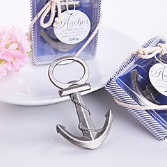 "Chrome Bottle Favor-1Piece/Set Bottle Openers Beach Theme Non-personalised Silver 4 1/2""""×1 3/4"" (11.4*4.5cm)"