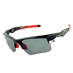 [Free Replacement Lenses] Cycling Polarized PC Rectangle Classic Sports Glasses