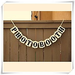 Wedding Décor PHOTO BOOTH Banner  Reception Sign Photo Booth Props