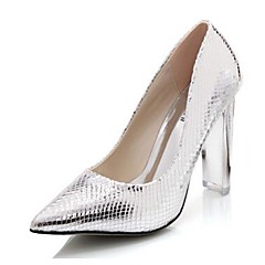 Women's Wedding Shoes Heels/Pointed Toe Heels Wedding/Dress/Party & Evening Silver/Gold