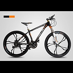Mountain Bikes Cykling 27 trin 26 tommer (ca. 66cm)/700CC SHIMANO M370 Olieskivebremse Springerforgaffel Monocoque Normal
