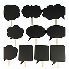 Karton Wedding Decorations-10piece / Set Niet-gepersonaliseerd