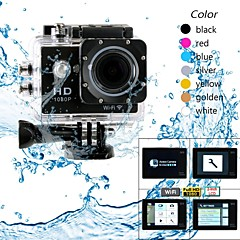 "eoscn HD1080p W9 étanche 2/3 ""CMOS 12MP appareil photo de sport w / 2"" batterie LTPS LCD / 900mAh"