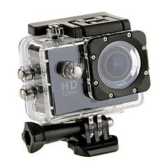 EOSCN w9 Sports Action Camera / Adhesive Mounts 12MP 1280x960 / 1920 x 1080 Tiltable LCD / WiFi 2 CMOS 32 GB H.264Single Shot / Burst