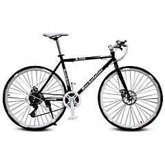 Дорожные велосипеды Велоспорт 21 Скорость 26 дюймы/700CC 25мм Унисекс Взрослый SHIMANO TX30 Двойной дисковый тормоз Обычные Моноблок