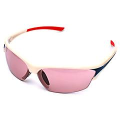 Óculos de Sol Homens / Mulheres / Unissex's Clássico / Esportivo / Fashion / sunglass Estilo Retângular Branco Ciclismo -Rim completa