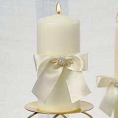 Candle Favors Piece / Set Stearinlys Ikke-personaliseret Hvid