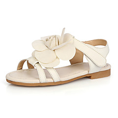 Girls' Shoes Comfort|Slingback Flat Heel Leather Sandals Shoes More Colors available
