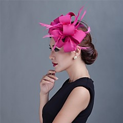 Women Wedding/Party Sinimay Fascinator with Feathers SFC12269