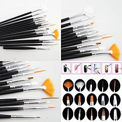 15 ネイルアートキット アートマニキュアツールキットネイル メイクアップ化粧品 ネイルアートDIY