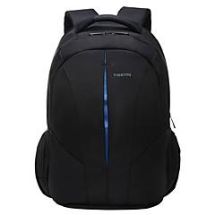 """15 """"mochila ao ar livre anti-roubo com zíper bolsa de computador portátil saco impermeável"""