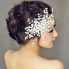 Női Gyöngy Sisak-Esküvő Fésűk