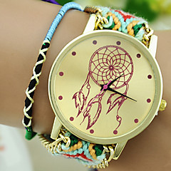 The New Women's Ethnic Style Exquisite Hand-woven Dreamcatcher DIY Balloon Watches
