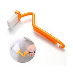 S Type Toilet Brush Curved Brush Toilet Cleaning Brush (Random Color) 20*7*3.5 cm