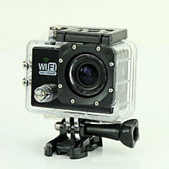 EST SJ6000 Mount/Holder / Straps / Screw / Charger / Sports Action Camera / Cable/HDMI Cable 12MP 1920 x 1080Waterproof / WiFi / Smile