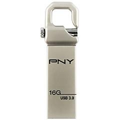 סגנון כונן הבזק עט מתכת PNY usb נספח וו 3.0 16gb