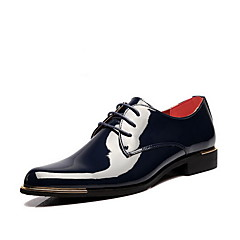Men's Shoes Casual Oxfords Black/Blue/Yellow/Red