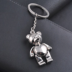 Zinklegierung Keychain Favors-1 Stück / Set Schlüsselanhänger Nicht-individualisiert Silber
