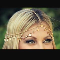 Feest/Dagelijks/Causaal - Haarbanden ( Legering , Gouden )