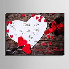 e-home® personlig signatur lerret ramme-kjærlighet