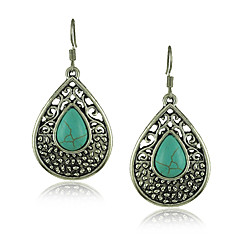 Turquoise stone earrings Green Turquoise Earring Wholesale