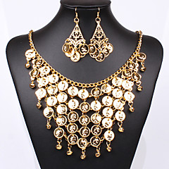 Women Vintage/Party/Work/Casual Alloy Necklace/Earrings Sets