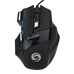 spillmus 5500 dpi 7 knapper ledet optisk usb kablet gaming mus mus for pro gamer
