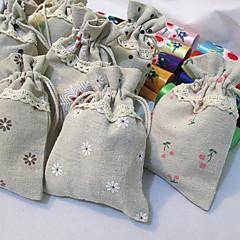 Bolsas de Ofertas ( Chocolate/Castanho/Verde/Rosa/Preto/Branco , Juta não-personalizado