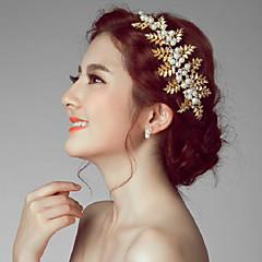 Femme Alliage / Imitation de perle Casque-Mariage / Occasion spéciale / Extérieur Fleurs 1 Pièce