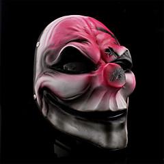 할로윈 의상 파티 월급 날이 광대 수지 마스크 (1 개)