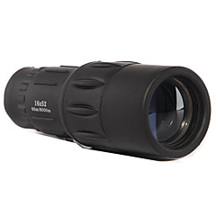16X 52 mm Monocular BAK4 Alta Definição 66m/8000m Revestimento Completo Uso Genérico Binóculos com Zoom Preto