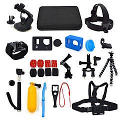 Gopro AccessoriesSmooth Frame / Lens Cap / Tripod / Gopro Case/Bags / Screw / Remote Controller Case / Buoy / Suction Cup / Straps / Hand