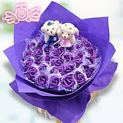 36 Similar Flowers Bouquet Valentine's Day Gift Cartoon Bear Bouquet