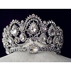 נשים ריינסטון סגסוגת כיסוי ראש-חתונה אירוע מיוחד נזרים חלק 1