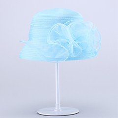 Women's Organza Headpiece-Wedding / Special Occasion Hats 1 Piece