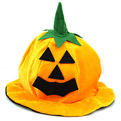 Women's / Men's Fabric Halloween Party Pumpkin Hats 1 Piece