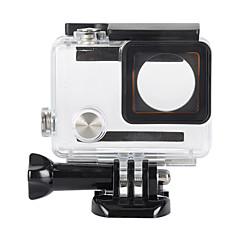 אביזרים לגו פרו נרתיק הגנה מותאם לפי הזמנה / עמיד במים, ל-מצלמת פעולה,Gopro Hero 3+ / Gopro Hero 4 1pcs מתכת / פלסטיק