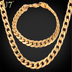 Vintage/Party/Büro/Freizeit - Herren - Halskette/Armband (Legierung/Platin überzogen/Rose Gold überzogen/Vergoldet)