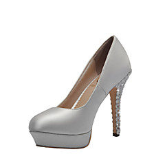 Women's Wedding Shoes Heels/Platform/Closed Toe Heels Wedding/Party & Evening/Dress White