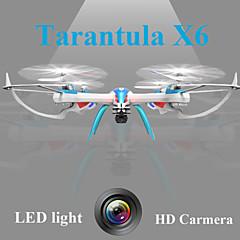 רחפן YiZhan Tarantula X6 4CH 6 ציר 2.4G עם מצלמה RC Quadcopter עם מצלמהRC Quadcopter / שלט רחוק / סוללה1עבור הרחפן / להבים / מדריך למשתמש