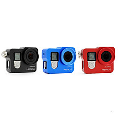 Gopro Accessories Protective Case All in One, For-Action Camera,Gopro Hero 2 / Gopro Hero 3 / Gopro Hero 3+ / Gopro Hero 4 Silver / Gopro