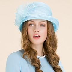 Women's Organza Headpiece-Wedding / Special Occasion / Casual / Outdoor Hats 1 Piece