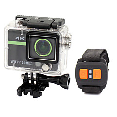 Sports Action Camera 12MP 3264 x 2448 / 4000 x 3000 / 2592 x 1944 / 4608 x 3456 Waterproof / Anti-Shock / WiFi 8x 2 CMOS 32 GB H.264
