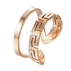 Women's Alloy Ring Non Stone Alloy
